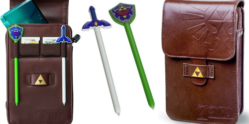 Nintendo 3DS The Legend of Zelda Adventurer's Pouch Just $9
