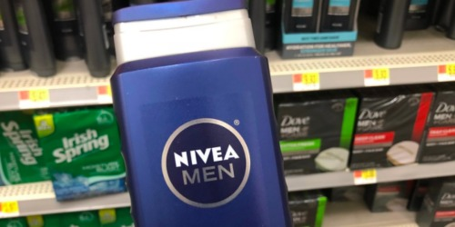 Amazon: NIVEA Men Body Wash 3-Pack Just $8 Shipped (Only $2.70 Each)