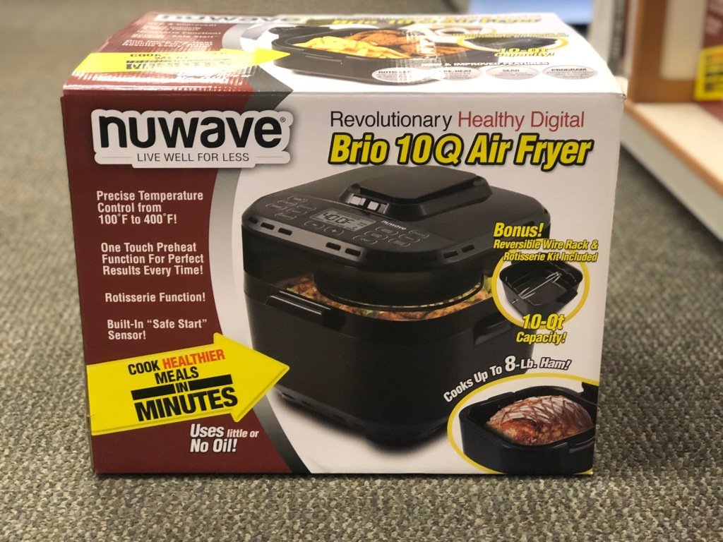 Mystery Coupon Big Savings On Air Fryers At Kohl S: Nuwave 10-Quart Air Fryer As Low As Only $89.99 Shipped