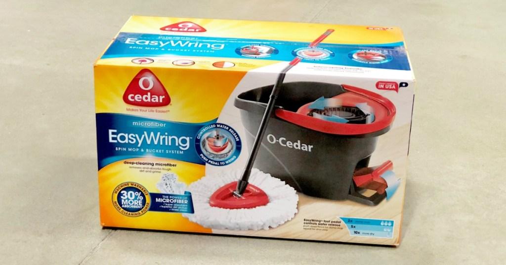 O-Cedar easy wring mop