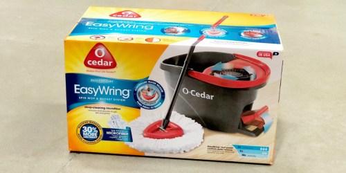 O-Cedar EasyWring Microfiber Spin Mop & Bucket + 3 Refills Only $39.96 After Target Gift Card (Regularly $55)