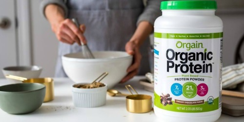 Orgain Organic Protein Powder & Shakes from $13.65 Shipped | Amazon Prime Deals