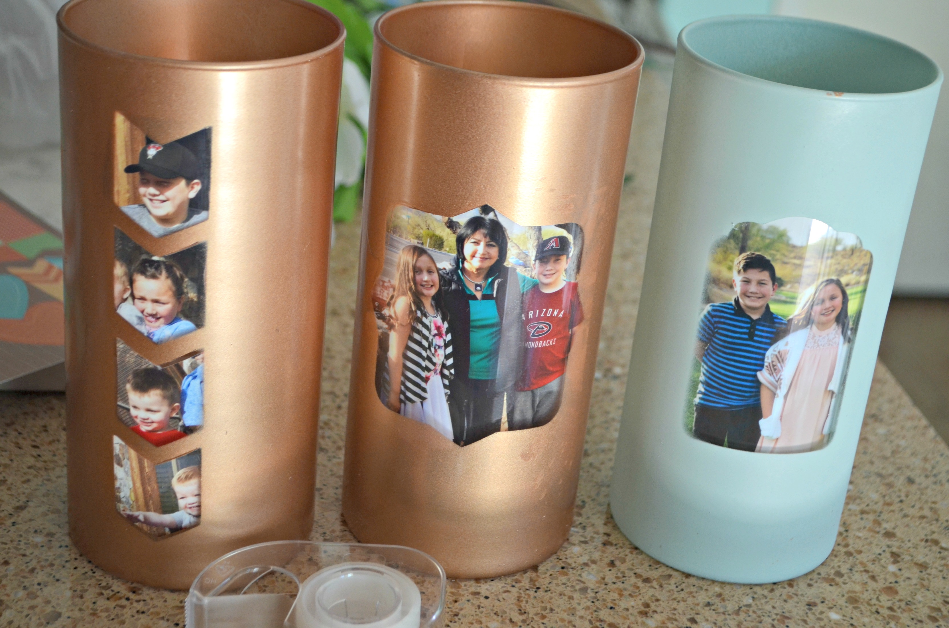 The photographs are the added touch for mom!