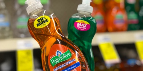 Palmolive Dish Soap ONLY 42¢ Per Bottle After CVS Rewards