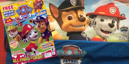 Paw Patrol Magazine One Year Subscription ONLY $12.99 (Just $2.17 Per Issue)