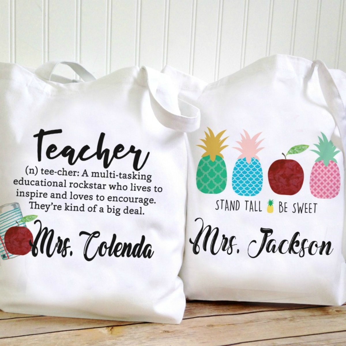 Teacher Quote Tote Bags Just 9 99