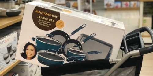 Rachael Ray 14-Piece Cookware Set Only $79.99 Shipped (Regularly $162)
