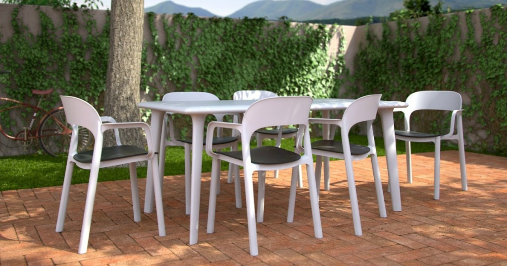Six Patio Dining Chairs Only 79 65 Shipped On Target Com Regularly