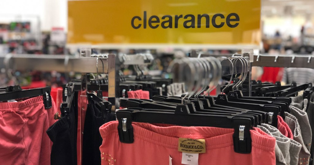 Clearance clothing at Sears