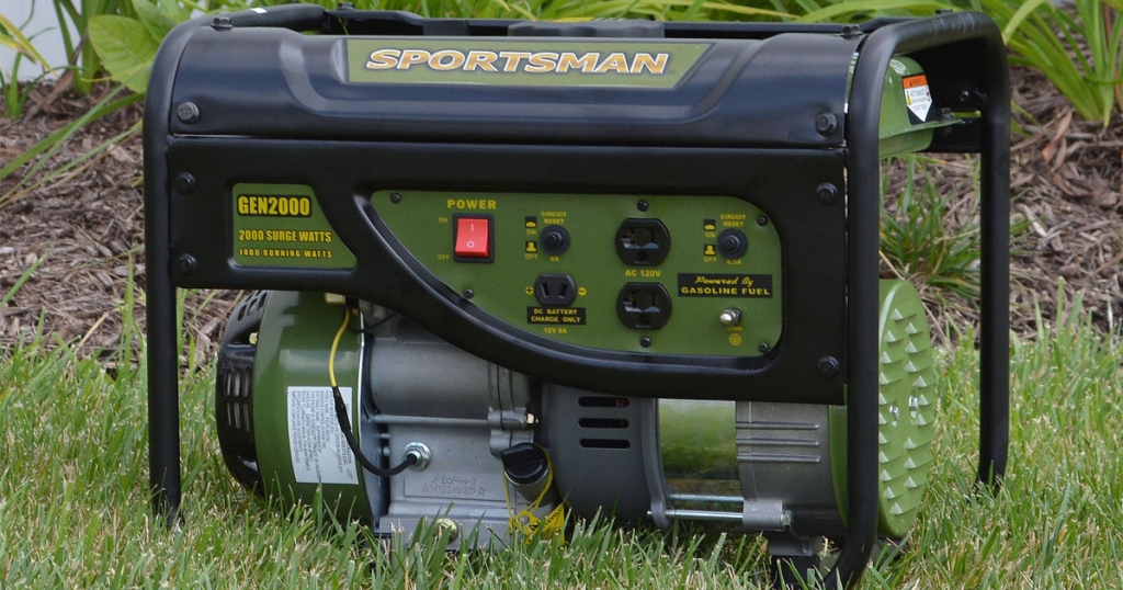 Sportsman Gasoline 2000W Portable Generator Only $149 Shipped