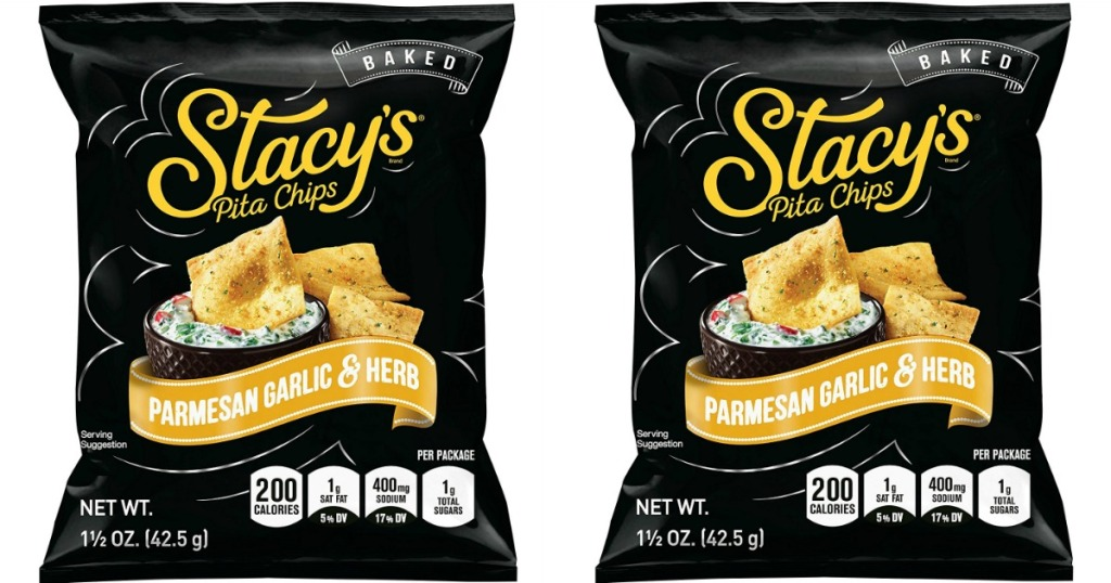 Stacy's parmesan garlic and herb chips