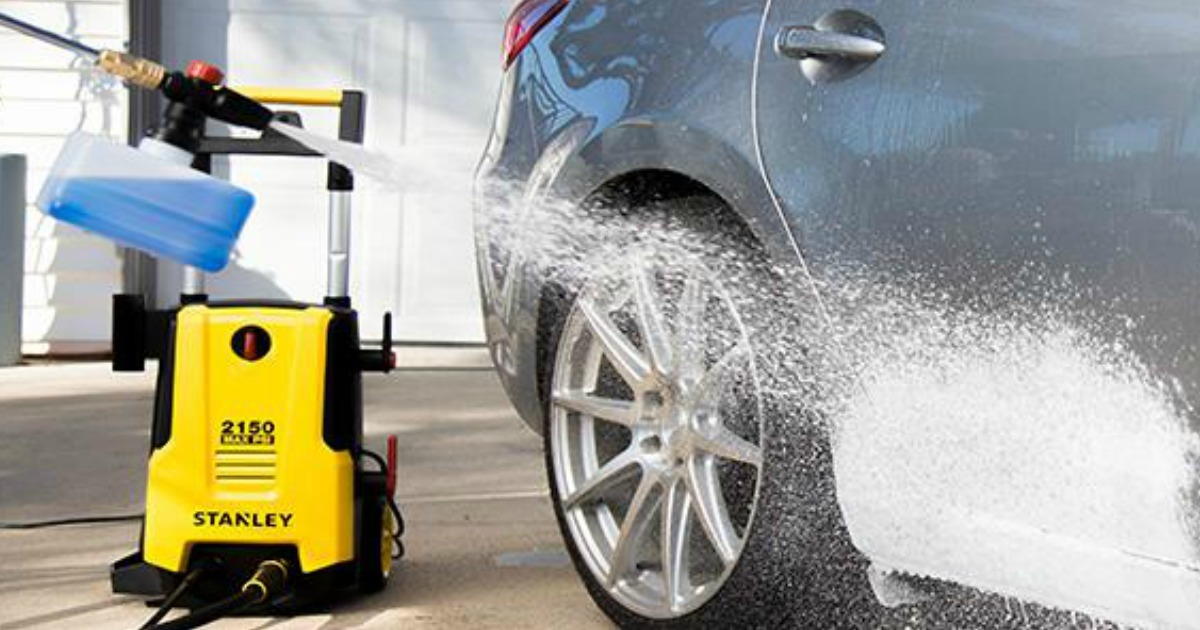 Stanley Electric Pressure Washer W Attachments Only 138