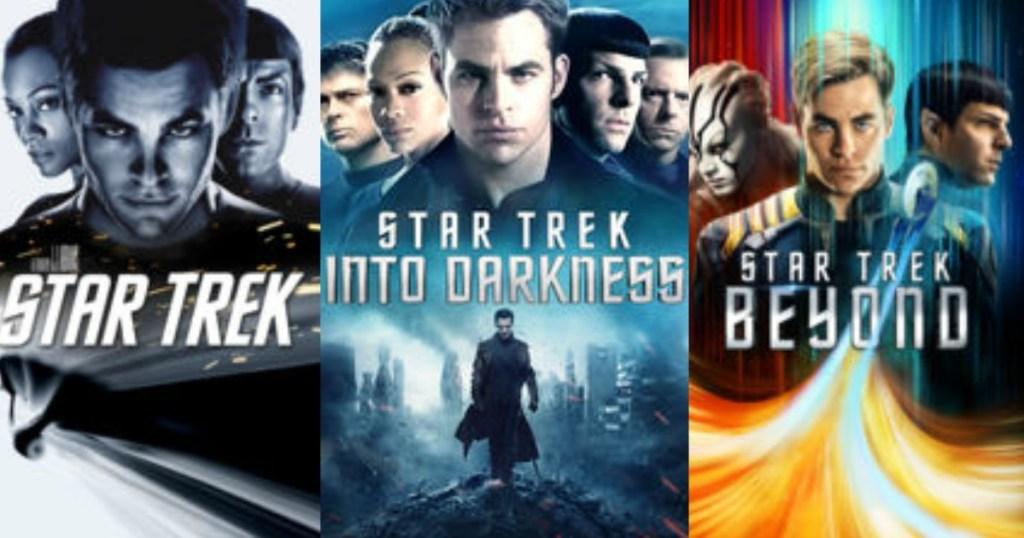 Star Trek 3-Movie Collection iTunes Digital Download Only $14 99