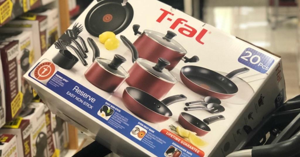 t-fal-cookware in Kohls cart