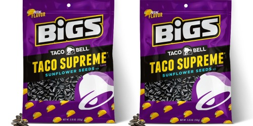 FREE BIGS Taco Bell Supreme Sunflower Seeds