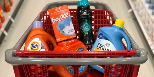 FREE $10 Target Gift Card w/ Purchase of Three Household Products (Tide, Charmin & More)