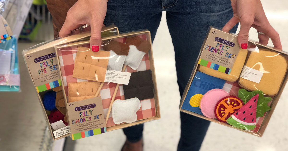 Adorable Felt Play Food Sets Only 3 At Target Hip2save,Contemporary House Paint Colors Interior