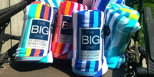 Kohl's The Big One Beach Towels Only $6.36 Shipped (Regularly $24) + Earn $5 Kohl's Cash