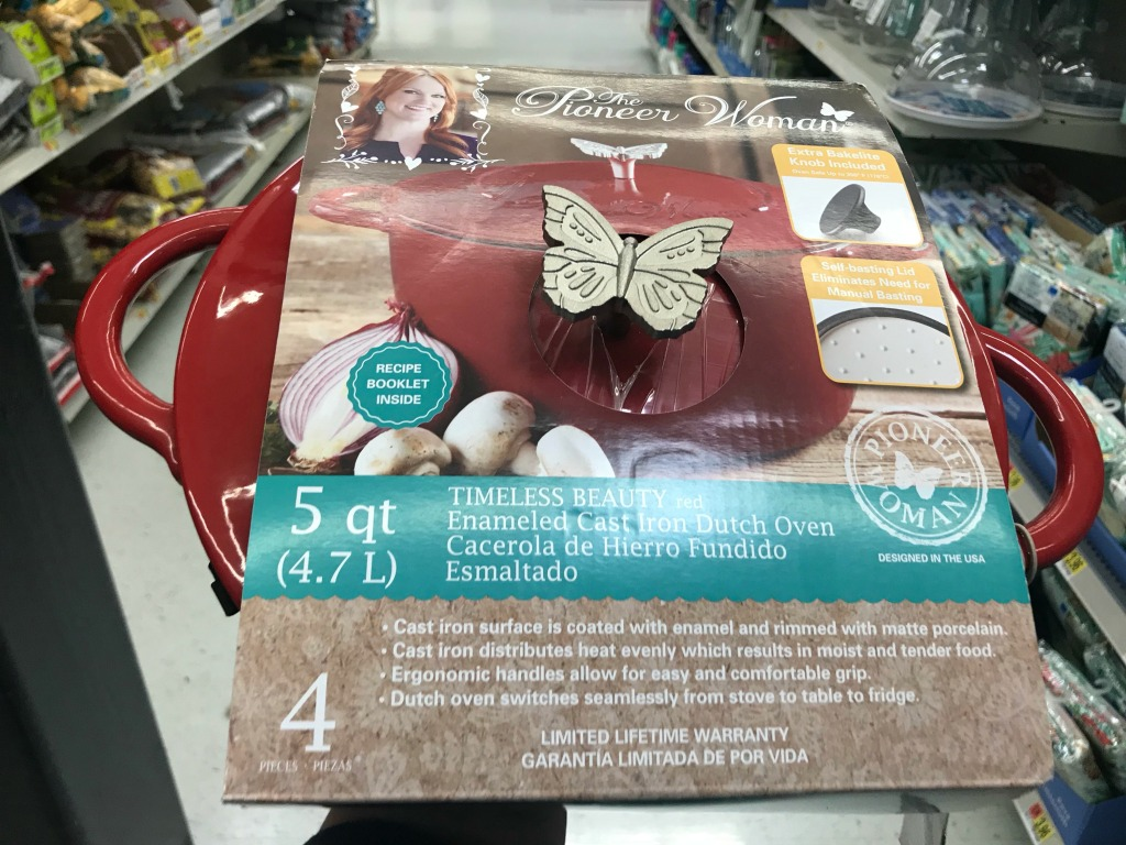 Walmart Clearance Finds: Pioneer Woman Dutch Oven Only $13