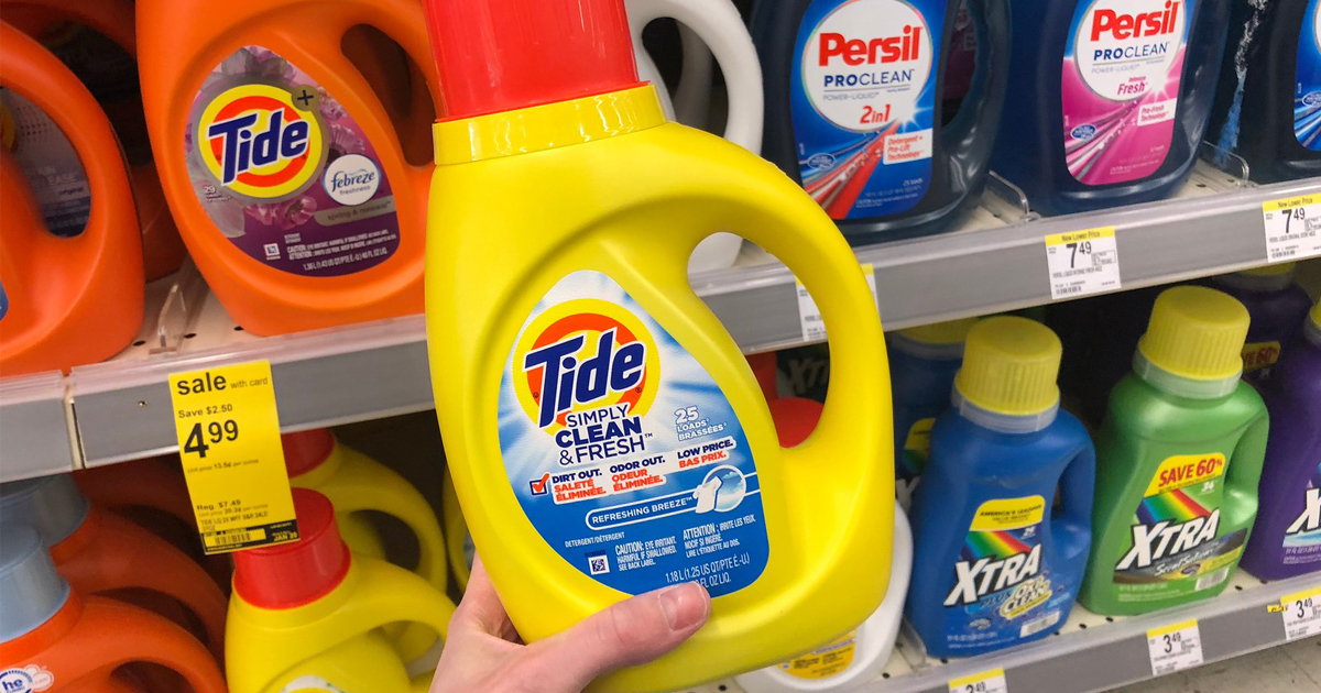 picture relating to Tide Simply Clean Printable Coupons named Tide Very easily Laundry Detergent Basically $1.99 at Walgreens (Within