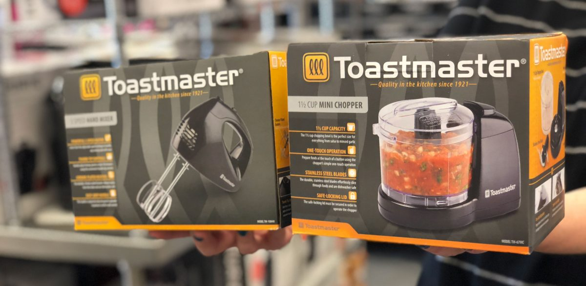 holding Toastmaster appliances