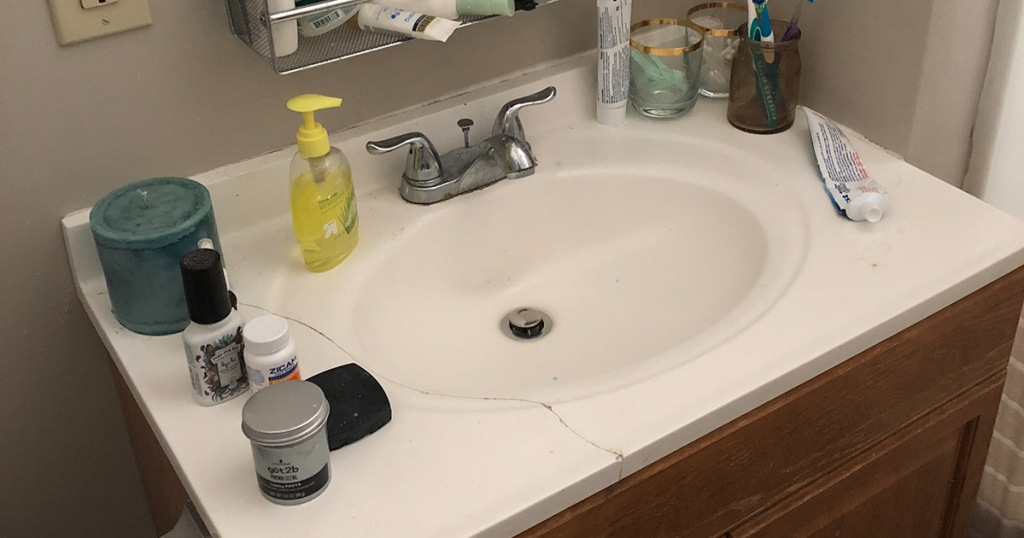 diy marble countertops with contact paper hip2save