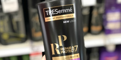 TRESemme 22oz Bottles Only $1.57 Each After Cash Back at Target