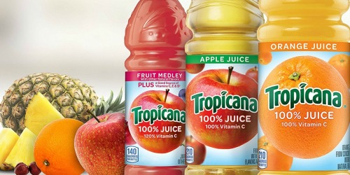 Amazon: Tropicana Apple Juice 24-Count Bottles Only $8.95 Shipped (Just 37¢ Each) + More