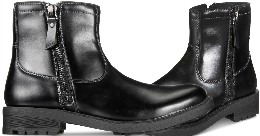 Macy S Kenneth Cole Unlisted Men S Boots Only 12 99