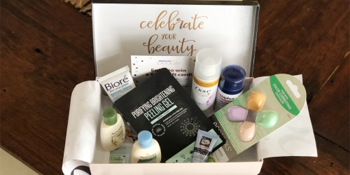 Walmart Beauty Box Just $5 Shipped | Personalized Products & Coupons