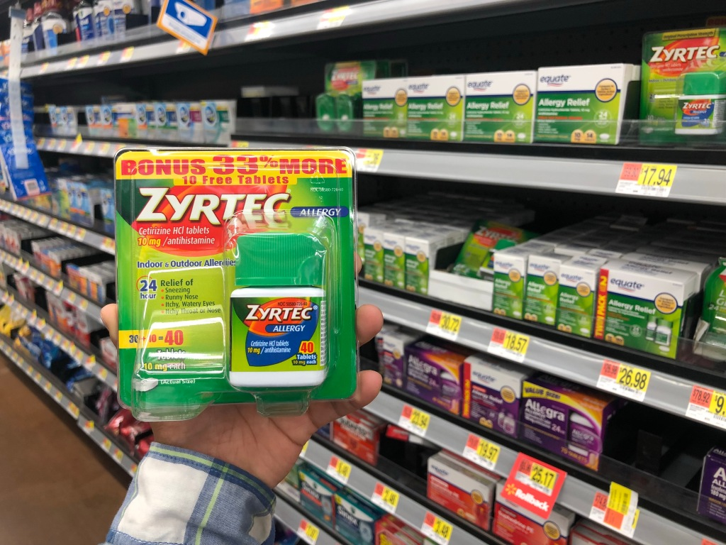 This is an image of Lucrative Zyrtec Printable Coupon $10
