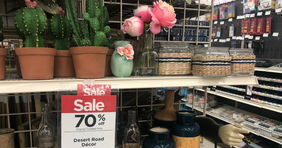 70 off spring decor items at michaels hip2save for Online decor stores