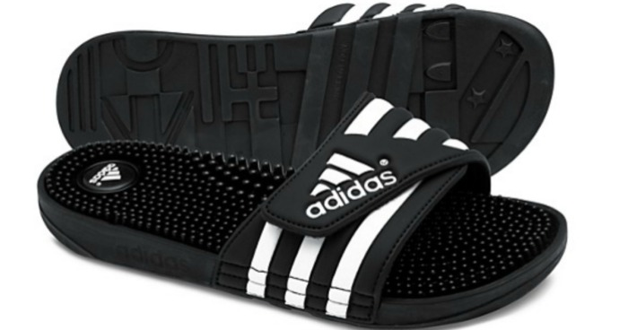 9cede8d3f41f Adidas Adissage Slides Just  14.99 Shipped - Hip2Save
