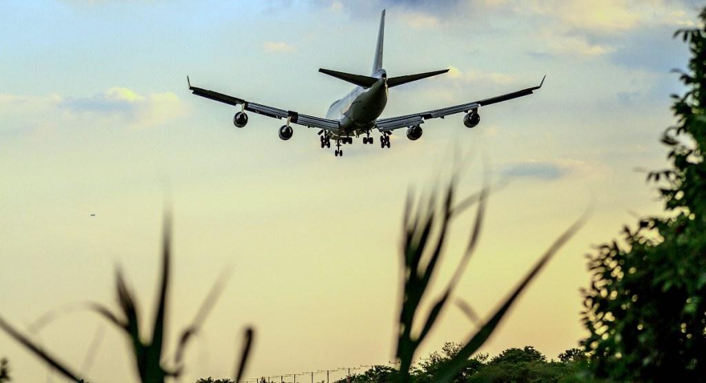 tsa pre-check tip — airplane landing