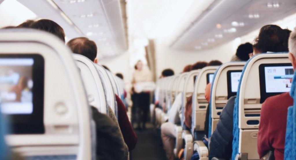 tsa pre-check tip —passengers on plane