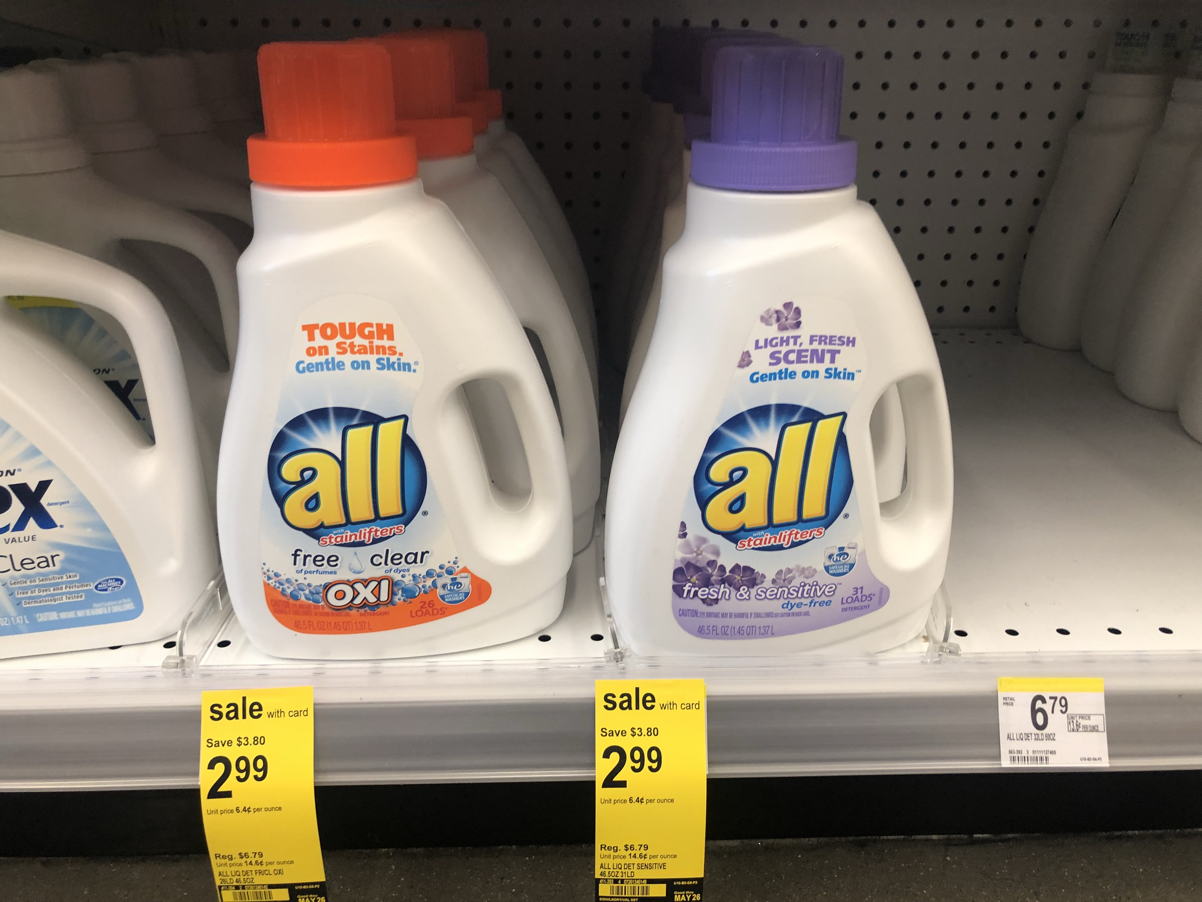 photograph regarding All Laundry Detergent Printable Coupons known as Clean $1/1 All Laundry Detergent Coupon \u003d Simply just $1.99 at