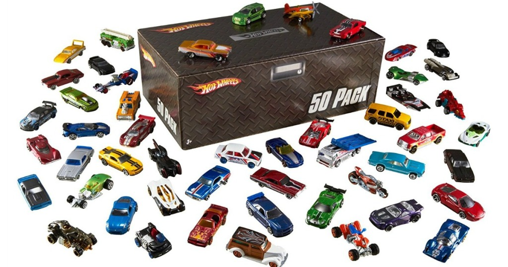 Amazon Hot Wheels 50 piece set