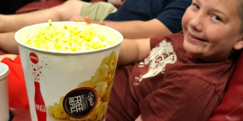 50% Off Tub of Popcorn at Select AMC Theatres + More