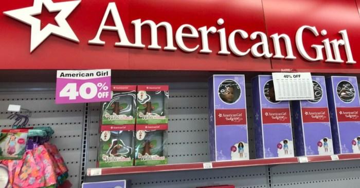 ToysRUs: 40% Off American Girl Dolls & Accessories