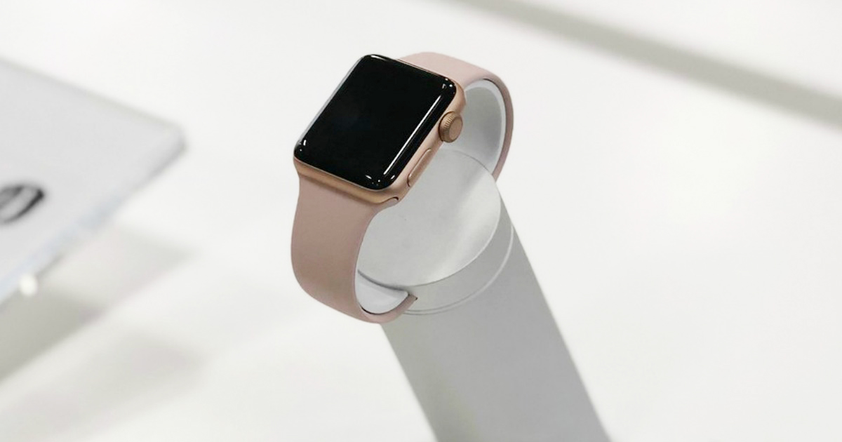 stay connected with an apple watch - An Apple watch