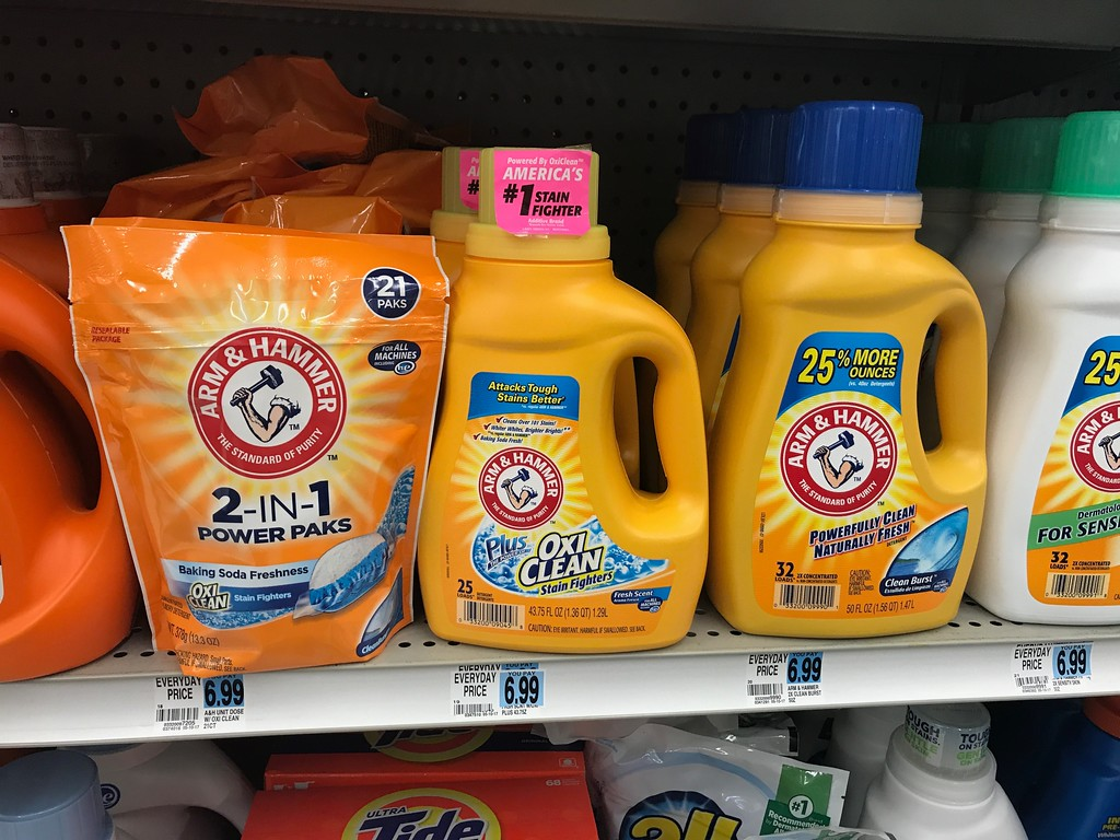 photograph regarding Arm and Hammer Detergent Coupons Printable known as $4 Well worth Of Fresh Arm Hammer Laundry Detergent Coupon codes