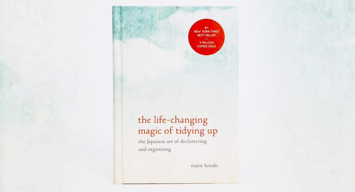 best Amazon self-help books — the life-changing magic of tidying up by marie kondo