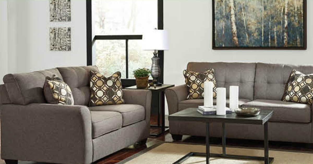 JCPenney: Ashley Signature Sofa AND Loveseat Only $627