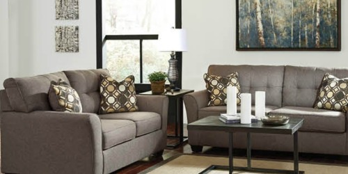 JCPenney: Ashley Signature Sofa AND Loveseat Only $627 Delivered (Just $314 Each)