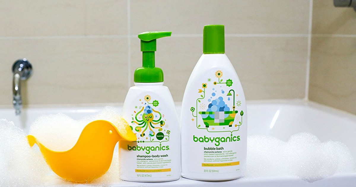 Amazon Babyganics Bubble Bath 2 Pack 20 Ounce Bottles
