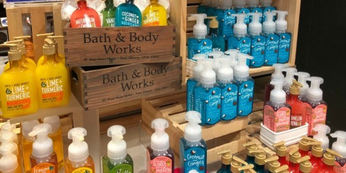 Bath & Body Works Hand Soaps as Low as $2 Each (Regularly $6.50)