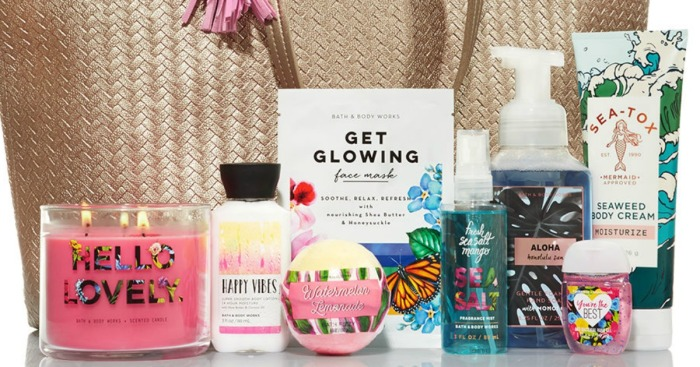 Bath Amp Body Works Mother S Day Tote Only 30 Over 117