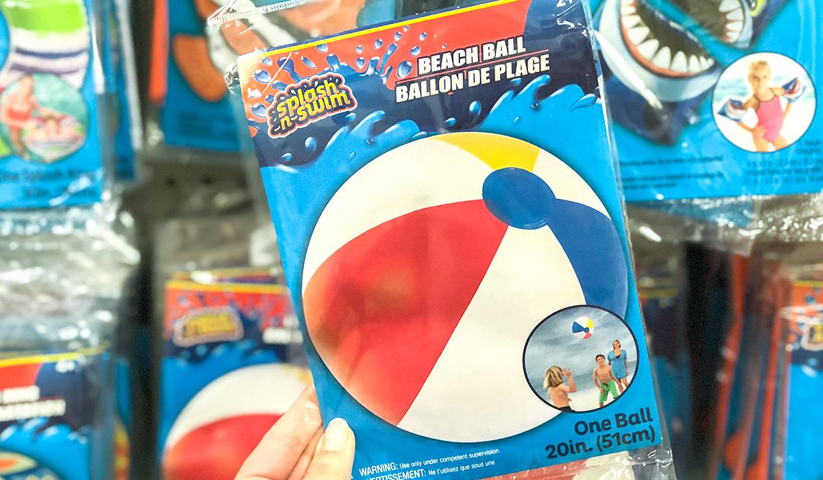 dollar tree pool supplies and fun hacks — beach ball