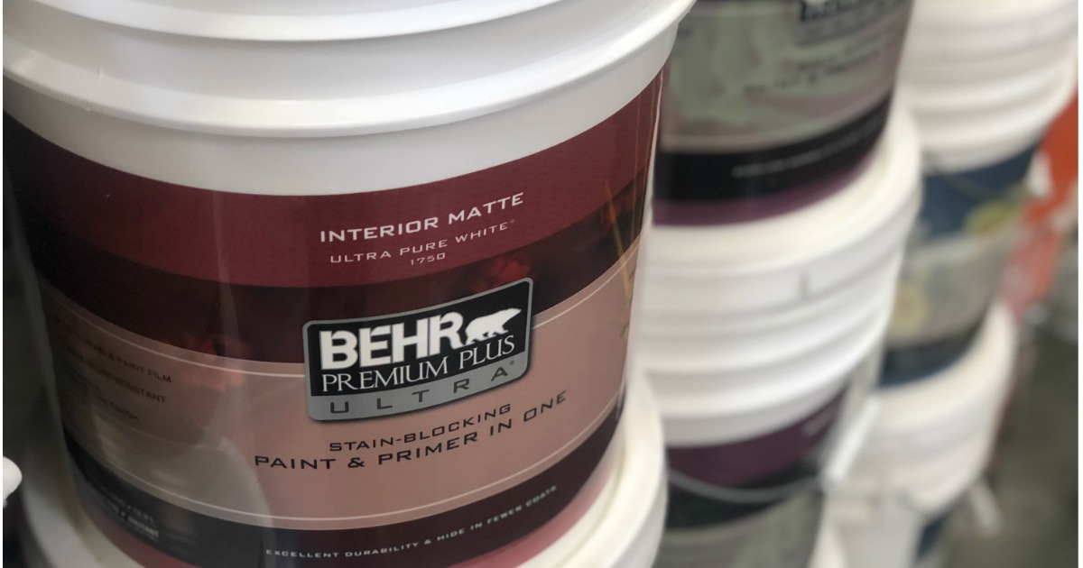 Home Depot Paint Coupons Printable: Home Depot: Up To $40 Rebate W/ Select Paint & Stain