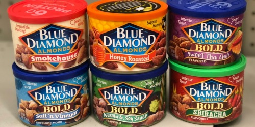Blue Diamond Almond Cans 6-Count Just $12.84 Shipped on Amazon (Only $2.14 Each)